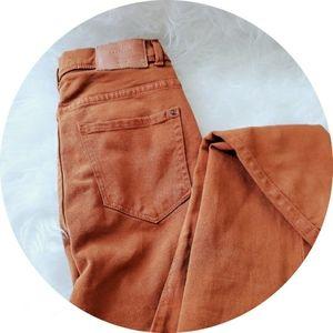 Zara brown skinny Jean's pants Size 2